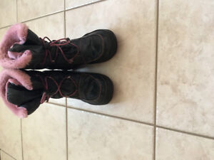Cougar winter boots girls size 3