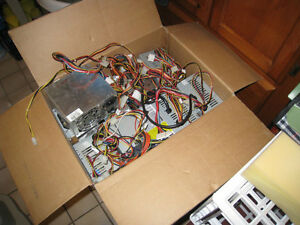 A lot of Computer Power supplies, different power, $10-35$ each