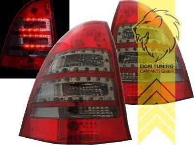 LED Rückleuchten Heckleuchten für Mercedes Benz S203 T-Modell C-Klas rot schwarz