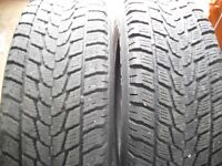 2-215/70r16'' winter tires