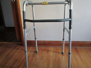 Walker-used for 2 weeks following hip replacement  $25.00