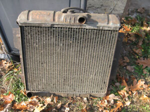 1962 Chrysler radiator, good condition, sell trade