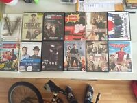 DVDS; BluRays; Xbox 360 and PS3 Games