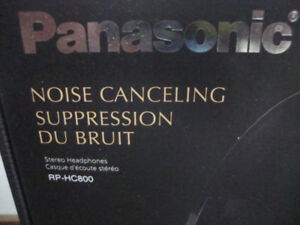 PANASONIC noise cancelling headphones