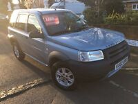 LEFT HAND DRIVE Land Rover Freelander 2002 LHD