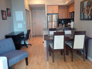 Sept:  Downtown Furnished 2 Bedroom @ Union - Maple Leaf Sq