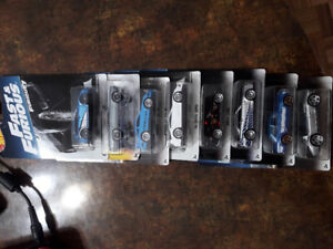 HOTWHEELS FAST  FURIOUS SET 2017 MINT VERY COLLECTIBLE
