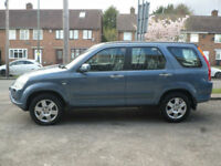 2004 Honda CR-V 2.0 i-VTEC Auto Executive 5DR 04 REG Petrol Blue