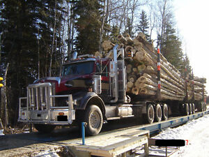 Logging Trucks/Drivers Required