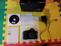 Sony A7 with its box