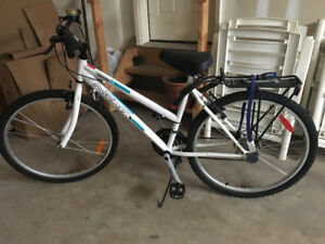 White female bicycle for sale