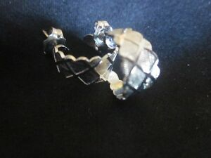 GORGEOUS! Solid Silver Earrings---Stamped 925~~NEW Condition