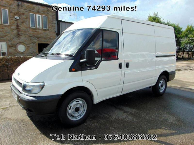 2005 55 FORD TRANSIT MWB,**NO VAT**, ONLY 74293 MILES! COUNCIL OWNED! VERY CLEAN