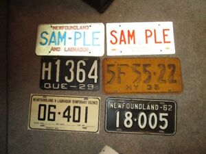 New Availability of Collectors Licence Plates!