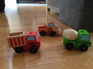 Stacking Construction Vehicles by Melissa and Doug
