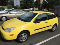 2000 Ford Focus Hatchback