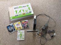 Nintendo Wii & Wii Fit Plus 3 Games