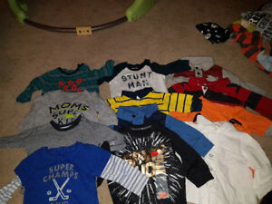 Sz 3 month long sleeve shirts brand names brand new condition $3