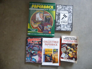Collector price guides, books vintage paperbacks