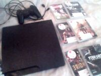 PS3 (PlayStation 3) with games