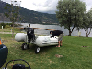 Like new 2014 Zodiak inflatable for sale
