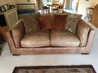 """Three Piece Furniture Village set -""""Shalimar"""" of 2 large """"2/3 Seat"""" sofas and a """"Snuggle"""" seat."""