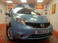 2014 Nissan Note TEKNA DIG-S(AUTOMATIC)(ONLY 22835 MILES) FREE MOTS AS LONG AS Y