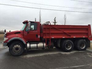 2007 International 7500 Gravel truck