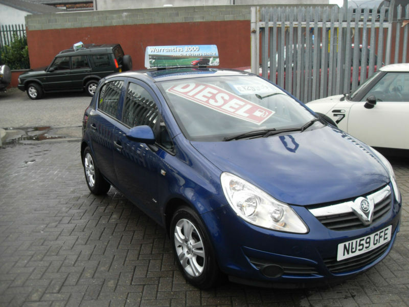 vauxhall opel corsa 1 3cdti 75ps ecoflex 2009my active in shotton colliery county durham. Black Bedroom Furniture Sets. Home Design Ideas