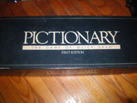 Pictionary 1st Addition Board Game