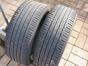 195/50/16, Two summer tires, 50% left