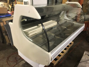 """36 and 52 """" igloo matching cake/pastry display case mint $2200"""