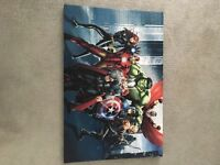 Marvel avengers canvas wall picture print