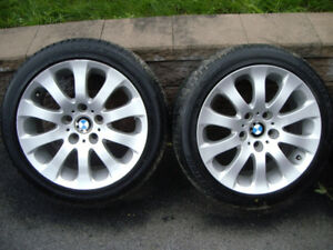 BMW mags and run flat summer tires