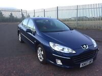 2007 57 PEUGEOT 407 1.6 DIESEL HDI FULL YEARS MOT SERVICE HISTORY 2 KEYS SUPERB DRIVE