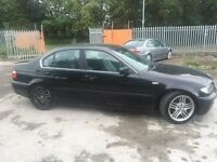 BMW 330D se 02 reg 187000 miles full BMW history fully loaded bargain £999