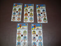 NHL Puffy Stickers 30 Players *Sealed In Package* 1983