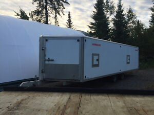 2014 enclosed 4 place snowmobile trailer