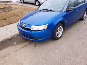 2004 Saturn ION front wheel drive