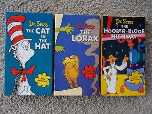 Lot of 5 VHS Dr. Seuss videos London Ontario image 3