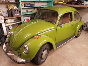 VW 1975 Volkswagen Standard Beetle - FUEL INJECTION-