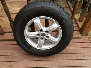 1 - 235/70/R16 BRIDGESTONE TIRE FOR SALE