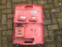 Hilti Battery charger with 2 batteries