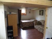 Furnished/all included/washer/dryer/wiffi/utilities/BBQ/Trail