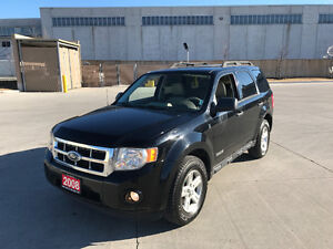 2008 Ford Escape Hybrid,4WD, Auto, Leather, 3/Ywarranty availab.
