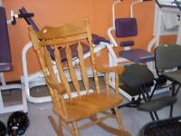 Rocking Chair - solid wood - extra large chair