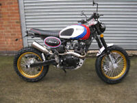 Bullit Motorcycles Hero 125cc Bianco Racing edition