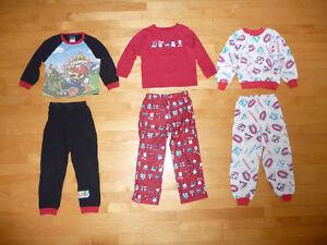 Pyjamas et chandails polar 5 ans