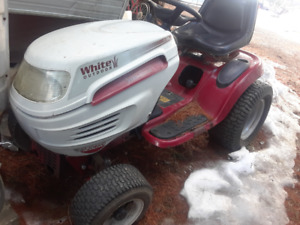 Wanted White Lawn Tractor/Garden Tractor Deck Wanted