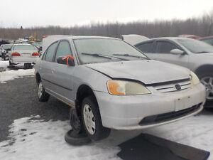 2003 Honda Civic Now Available At Kenny U-Pull Cornwall